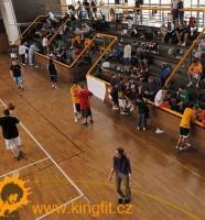 Report: Indoor UNK Streetball by KingFit, hala TJ Pankrác, Praha, 31.1. 09