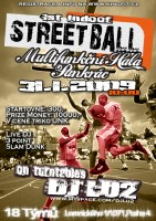 Hip Hop Shop KINGFIT Vás zve na 1. Indoor Streetball by UNK