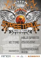 Pozvánka: AND1 Indoor Streetball by KingFit - 25.2.2012, sportovní hala Sparta