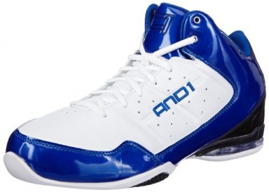 Boty AND1 Master Mid White/Blue