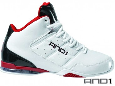 Boty AND1 Master Mid White/Red