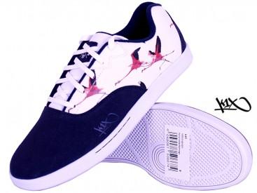 Boty K1X Cali navy/white/flamingo