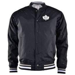 Bunda K1X Leaf Varsity black/white