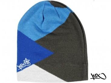 Čepice K1X Shorty Zaggamuffin modrá/šedá/bílá