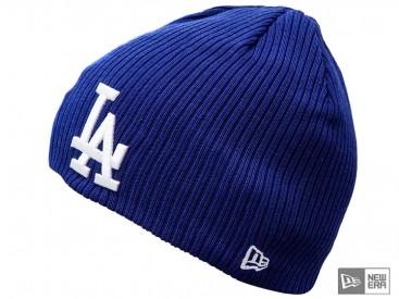 Čepice New Era Ribbed Knit LA Dodgers royal/white
