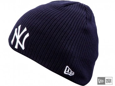 Čepice New Era Ribbed Knit NY Yankees team/white