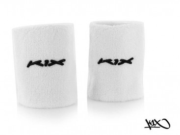 K1X Hardwood Wristbands white