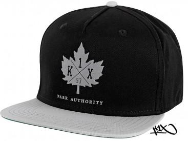 K1X Park Authority Snapback Cap black/grey