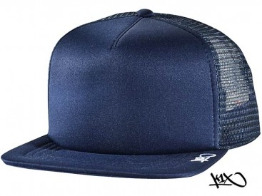 K1X Plain Tag Trucker Cap navy/white