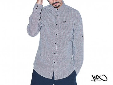 Košile K1X Check Ball grey/black