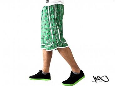 Kraťasy K1X Check It Out green/black
