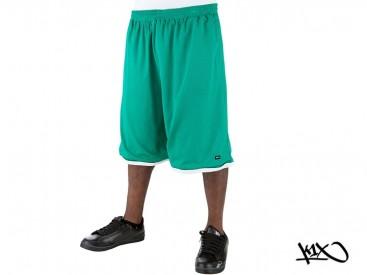 Kraťasy K1X Roll Up Practice green/white