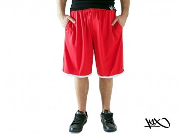 Kraťasy K1X Roll Up Practice red/white