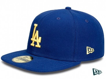 New Era Contrast LA Dodgers Cap royal/gold