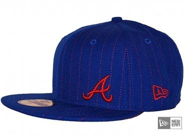 New Era Flawless Pinstripe Atlanta Braves 5950 Cap