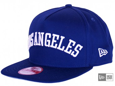New Era Flip Up City LA Dodgers Snapback Cap