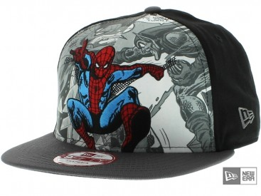 New Era Hero Break Spiderman Snapback Cap