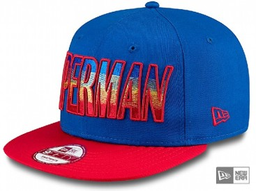 New Era Hero Fade Superman Snapback Cap