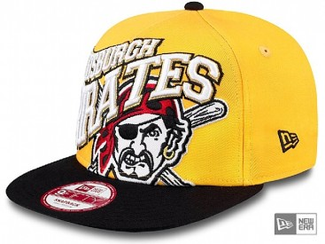 New Era Swoopty Snap Pittsburgh Pirates Snapback Cap team