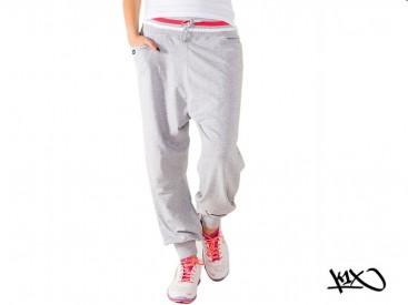 Tepláky K1X Shorty Collared grey