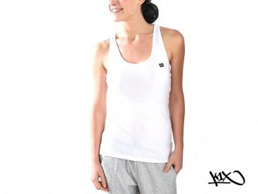 Tílko K1X Shorty Basic Tag Wifey white/navy