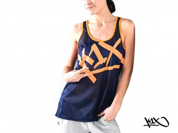 Tílko K1X Shorty Meshed Up Tear It Up navy/orange