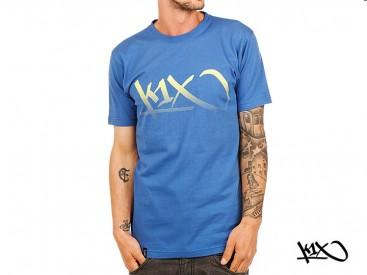 Triko K1X Gradient Tag vice blue/yellow