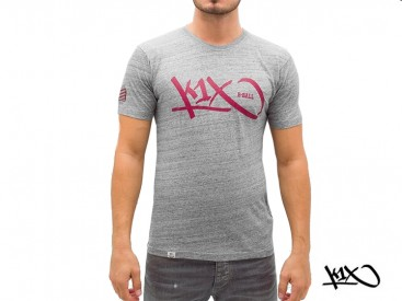Triko K1X Grip Tag Tee grey/red