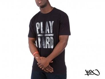 Triko K1X Play Hard black/white