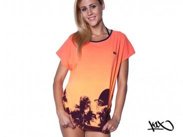 Triko K1X Shorty Paradise Loose neon orange