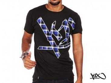 Triko K1X Wrap Around Check černé