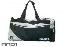 AND1 Duffle Bag černá/šedá/bílá