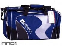 AND1 Duffle Bag modrá/černá/bílá