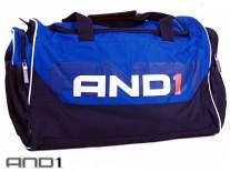 AND1 Large Bag modrá/černá/bílá