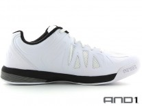 Boty AND 1 Backlash Low White/Black