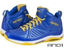 Boty AND1 ME8 Empire Mid blue/yellow