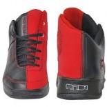 Boty AND1 Tai Chi black/white/varsity red