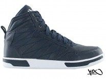 Boty K1X H1top LE navy/white/brown