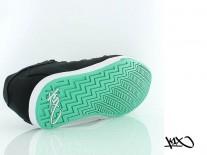 Boty K1X Lp Low black/white/green