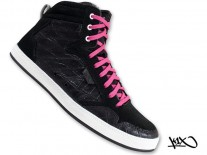Boty K1X Shorty h1top black/pink