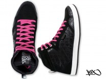 Boty K1X Shorty h1top black/pink