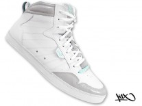 Boty K1X Shorty h1top white/grey