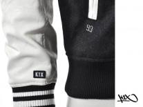 Bunda K1X Hustle College black/white