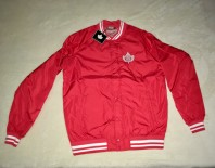 Bunda K1X Leaf Varsity red/white