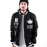 Bunda K1X o.d.varsity jacket black/white