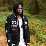 Bunda K1X o.d.varsity jacket black/white
