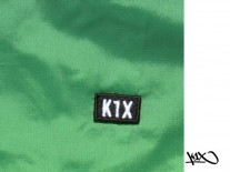 Bunda K1X Paradise Windbreaker green/lime