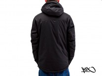 Bunda K1X Urban Hooded black/white