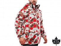 Bunda K1X Urban Hooded desert rose