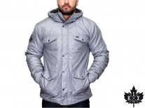 Bunda K1X Urban Hooded Fullzip MK6 charcoal